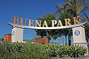 Buena Park City Sign