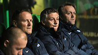 05/11/15 UEFA EUROPA LEAGUE GROUP STAGE<br /> CELTIC v MOLDE FK<br /> CELTIC PARK - GLASGOW<br /> Molde manager Ole Gunnar Solskjaer