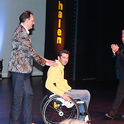 NLD/Rotterdam/20130204 - Premiere LULverhalen 2013, Vincent Bijlo en Marc de Hond