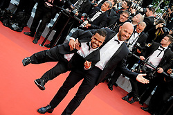 Anouar Toubali, Franck Gastambide attending the Money Monster premiere during the 69th Cannes Film Festival on May 12, 2016 in Cannes, France. Photo by Julien Zannoni/APS-Medias/ABACAPRESS.COM