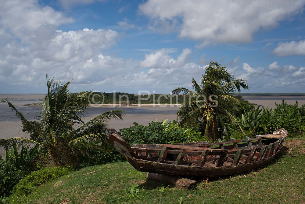 Alcantara on 27th May 2014, Maranhao, Brazil. It is an island off the north east coast of Brazil close to Sao Luis, state capital of, and is one of the largest Quilombos in Brazil, which are communities that were originally set up by escaped or freed slaves during the colonial period.