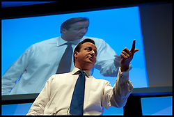 Prime Minister David Cameron during the Conservative Party Conference at ICC, Birmingham, on the second day of the Party Conference, October 7, 2012. Birmingham, England. Photo by Andrew Parsons / i-Images..