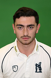 George Panayi during the media day at Edgbaston, Birmingham. PRESS ASSOCIATION Photo. Picture date: Thursday April 5, 2018. See PA story CRICKET Warwickshire