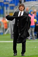 "Milan Coach LEONARDO<br /> Leonardo allentore del Milan<br /> Roma 8/11/2009 Stadio ""Olimpico""<br /> Lazio Milan 1-2<br /> Campionato Italiano Serie A 2009/2010<br /> Foto Andrea Staccioli Insidefoto"