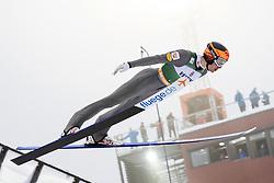 February 8, 2019 - Lahti, Finland - Thomas Wolfgang Joebstl competes during Nordic Combined, PCR/Qualification at Lahti Ski Games in Lahti, Finland on 8 February 2019. (Credit Image: © Antti Yrjonen/NurPhoto via ZUMA Press)