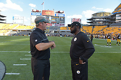 against the Pittsburgh Steelers at Heinz Field on August 18, 2016 in Pittsburgh, Pennsylvania. The Eagles won 17-0. (Photo by Drew Hallowell/Philadelphia Eagles)