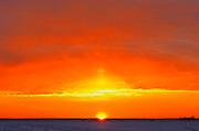 Sunrise over the prairie<br /> Winnipeg<br /> Manitoba<br /> Canada