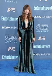 Jessica Biel, The 22nd Annual Critics Choice Awards at Barker Hangar (Santa Monica, CA.)