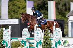 Caals Simon, BEL, Quizz van de Zandloper<br /> BK Young Horses 2020<br /> © Hippo Foto - Sharon Vandeput<br /> 6/09/20