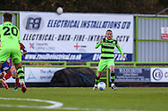 Forest Green Rovers Liam Noble(15) runs forward during the Vanarama National League match between Forest Green Rovers and Aldershot Town at the New Lawn, Forest Green, United Kingdom on 5 November 2016. Photo by Shane Healey.