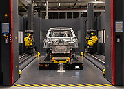 Germany, Zwickau VW production site. the electric ID.3 lane