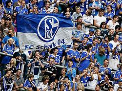 01.08.2010,  Veltnis-Arena, Gelsenkirchen, GER, 1.FBL, Hamburger SV - 1. FC Koeln, Liga total! Cup 2010, im Bild: Fans von Schalke 04  EXPA Pictures © 2010, PhotoCredit: EXPA/ nph/  Mueller+++++ ATTENTION - OUT OF GER +++++ / SPORTIDA PHOTO AGENCY