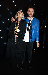 VIRGINIA BATES and JAMES LONG at the launch of he LG 'Shine' Black Label Series mobile phone held at Cirque, Leicester Square, London W1 on 7th February 2007.<br /><br />NON EXCLUSIVE - WORLD RIGHTS