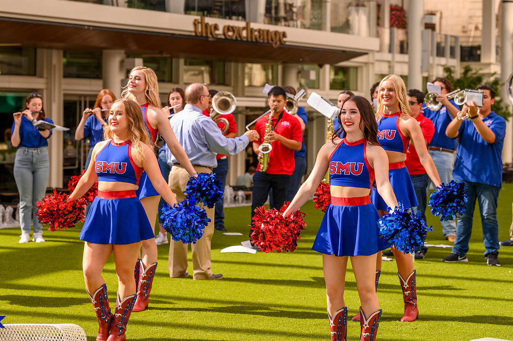 The SMU Community and guests attend the Dallas Campaign Kickoff, Tuesday, September 21, 2021 at the AT&T Discovery District in Downtown Dallas.