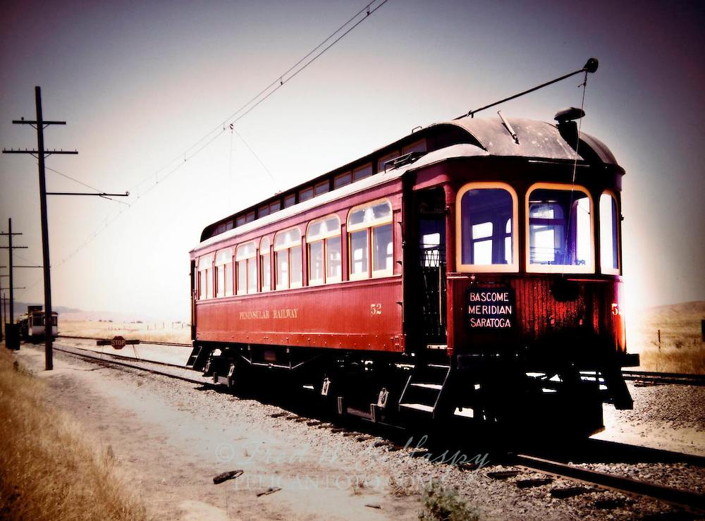 Santa Clara Valley Streetcar, c. 1914 - 2