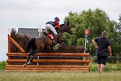 De Cleene Wouter, BEL, Alaric de Lauzelle<br /> European Championship Eventing Landelijke Ruiters - Tongeren 2017<br /> © Hippo Foto - Kris Van Steen<br /> 29/07/2017