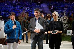 Jung Michael, Glötz Mirko, Mrs Glötz<br /> WBFSH Prize Giving<br /> CHI de Genève 2017<br /> © Hippo Foto - Dirk Caremans<br /> 09/12/2017