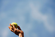 Roland Garros. Paris, France. June 7th 2006..A ball boy's hand.