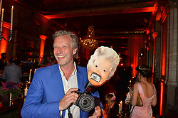 HUGO BURNAND at the TatlerMagazine's Kings & Queens party held at Savini at Criterion, Piccadilly, London on 1st June 2016.