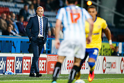 Manager Uwe Rosler of Wigan looks on from the sideline - Photo mandatory by-line: Rogan Thomson/JMP - 07966 386802 - 16/09/2014 - SPORT - FOOTBALL - Huddersfield, England - The John Smith's Stadium - Huddersfield Town v Wigan Athletic - Sky Bet Championship.