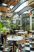 Restaurant in Hotel Magnolia in Santiago, Chile