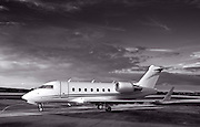 Challenger 604, shot at Charlie Brown Airport, Atlanta.  Fall 2009.