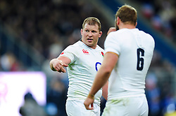 Dylan Hartley of England - Mandatory byline: Patrick Khachfe/JMP - 07966 386802 - 19/03/2016 - RUGBY UNION - Stade de France - Paris, France - France v England - RBS Six Nations.