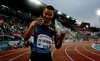 Friidrett , 9. juni 2016 , Diamond League , Bislett Games<br /> Athletics , <br /> winner 100 m Andre De Grasse , Canada
