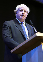 Boris Johnson Speaking at the  Conservative conference, in Birmingham 3rd oct 2018