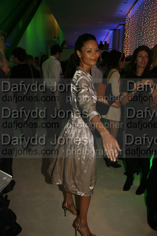Thandie Newton, Burberry celebrates the opening of the Hockney exhibition and their 150th anniversary with a party at the National Portrait Gallery. 11 October 2006. -DO NOT ARCHIVE-© Copyright Photograph by Dafydd Jones 66 Stockwell Park Rd. London SW9 0DA Tel 020 7733 0108 www.dafjones.com