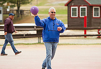 Roy's Birthday Kick Ball at Gunstock.  Karen Bobotas Photographer
