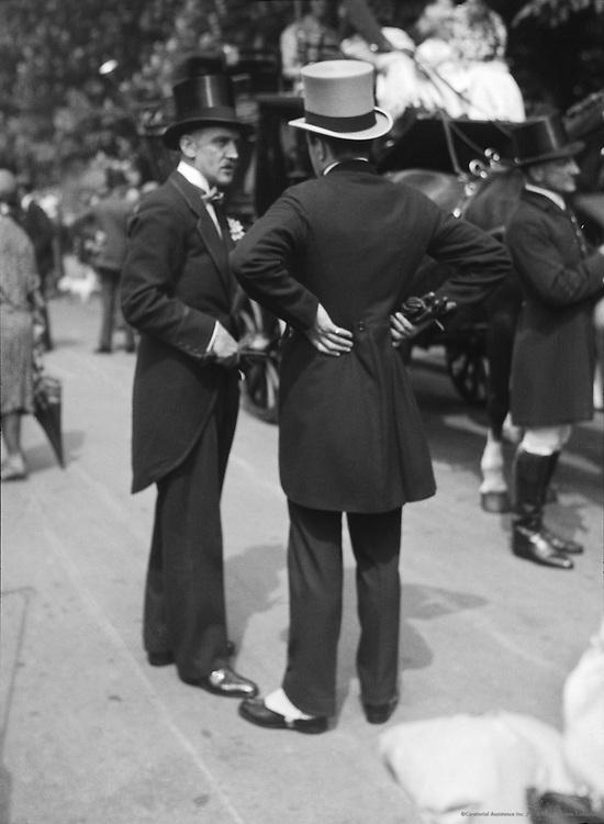 Opening Week of Coaching Season, London, 1933