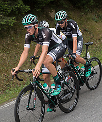 25.06.2017, Grein an der Donau, AUT, Rad Strassen Staatsmeisterschaft Elite Herren, 2017, Grein an der Donau, Oberösterreich im Bild Gregor Mühlberger (AUT, Bora - Hansgrohe). Patrick Konrad (AUT, Bora - Hansgrohe) //  during cycling road championship, Grein an der Donau, Oberöstereich at 2017/06/25. EXPA Pictures © 2017, PhotoCredit: EXPA/ R. Eisenbauer