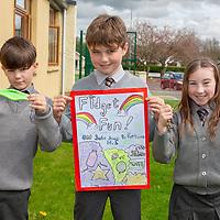 Lee Mitchell, Gavin O'Regan and Emma Shanahan with their Jessies Project Fidget Fun