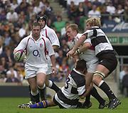 Twickenham. England. RFU Stadium, Surrey. <br /> Photo Peter Spurrier25/05/2003<br /> 2003 - Rugby - England v Barbarians.         [Mandatory Credit: Peter SPURRIER/Intersport Images]