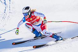 10.01.2020, Keelberloch Rennstrecke, Altenmark, AUT, FIS Weltcup Ski Alpin, Abfahrt, Damen, 2. Training, im Bild Rahel Kopp (SUI) // Rahel Kopp of Switzerland in action during her 2nd training run for the women's Downhill of FIS ski alpine world cup at the Keelberloch Rennstrecke in Altenmark, Austria on 2020/01/10. EXPA Pictures © 2020, PhotoCredit: EXPA/ Johann Groder