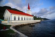 Church, Tahaa, French polynesia