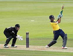 Hampshire's Owais Shah - Photo mandatory by-line: Robbie Stephenson/JMP - Mobile: 07966 386802 - 19/06/2015 - SPORT - Cricket - Southampton - The Ageas Bowl - Hampshire v Sussex - Natwest T20 Blast