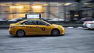 NEW YORK  2020V10<br /> Taxibil i New York.<br /> <br /> Foto: Per Danielsson/Projekt.P