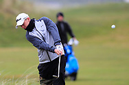 Joshua Hill (Galgorm Castle) the 18th tee during Round 3 of the Ulster Boys Championship at Donegal Golf Club, Murvagh, Donegal, Co Donegal on Friday 26th April 2019.<br /> Picture:  Thos Caffrey / www.golffile.ie