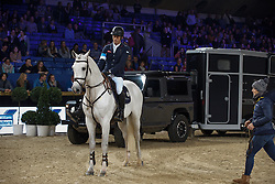 Smolders Harrie, NED, Best rider of the show <br /> Longines FEI World Cup presented by Land Rover<br /> Vlaanderens Kerstjumping Memorial Eric Wauters<br /> © Dirk Caremans<br /> 27/12/2016