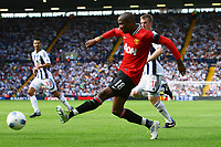 Football - Premier League - West Bromwich Albion vs. Manchester United<br /> Ashley Young of Manchester United cross the ball which deflects off West Brom's Steven Reid into the net at The Hawthorns