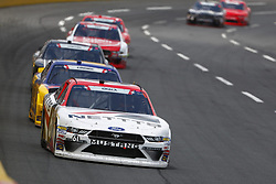 May 26, 2018 - Concord, North Carolina, United States of America - Kaz Grala (61) brings his car through the turns during the Alsco 300 at Charlotte Motor Speedway in Concord, North Carolina. (Credit Image: © Chris Owens Asp Inc/ASP via ZUMA Wire)