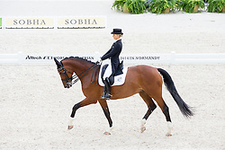 Grete Barake, (EST), Talent - Grand Prix Team Competition Dressage - Alltech FEI World Equestrian Games™ 2014 - Normandy, France.<br /> © Hippo Foto Team - Leanjo de Koster<br /> 25/06/14
