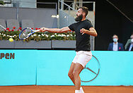 Benoit Paire of France during the Mutua Madrid Open 2021, Masters 1000 tennis tournament on May 5, 2021 at La Caja Magica in Madrid, Spain - Photo Laurent Lairys / ProSportsImages / DPPI
