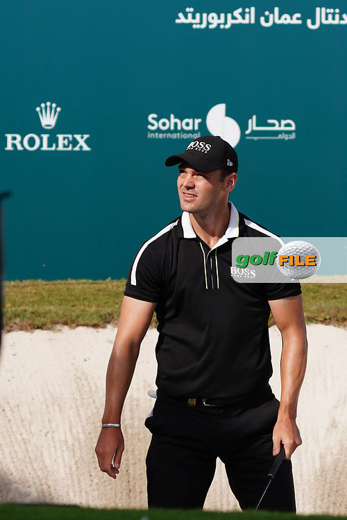 Martin Kaymer (GER) on the 18th during Round 4 of the Oman Open 2020 at the Al Mouj Golf Club, Muscat, Oman . 01/03/2020<br /> Picture: Golffile | Thos Caffrey<br /> <br /> <br /> All photo usage must carry mandatory copyright credit (© Golffile | Thos Caffrey)