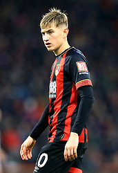 Bournemouth's David Brooks during the Premier League match at The Vitality Stadium, Bournemouth.