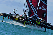 Defenders Emirates Team New Zealand skippered by Peter Burling during the 35th America's Cup 2017, Day 4, on June 25, 2017 in Hamilton, Bermuda - Photo Christophe Favreau / ProSportsImages / DPPI