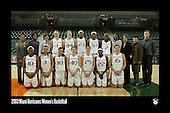 Hurricanes Women's Basketball Team Photos