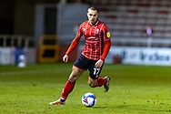 Lincoln City Forward Remy Howarth (17) during the EFL Sky Bet League 1 match between Lincoln City and Shrewsbury Town at Sincil Bank, Lincoln, United Kingdom on 15 December 2020.